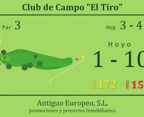 Campo de Golf - Hoyo 1 y 10
